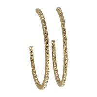 Swarovski VI Hoop Pierced Earrings 5017088