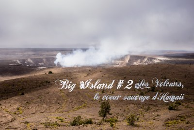 Big Island #2 Les volcans, le coeur sauvage d'Hawaii