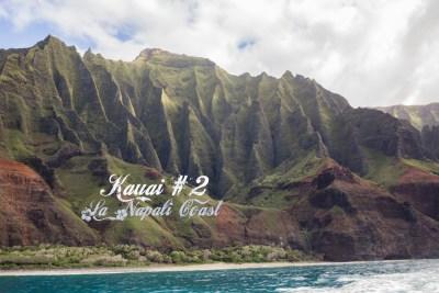 Kauai #2 : Croisière en Catamaran sur la Napali Coast