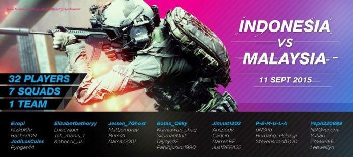 Lineup team IDN