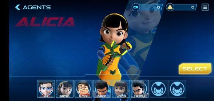 Pandang Pertama Ejen Ali Agents' Arena - Konsep Game Mobile Menarik, Tapi Perlu Banyak Tambahbaik