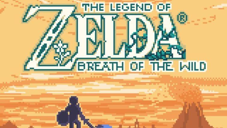 Macam Ini Rupanya Kalau Zelda: Breath of the Wild Dibikin Untuk Game Boy Colour