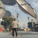 Angkara Penggodam, Story Mode Dalam GTA V Sekarang Diserang UFO Makhluk Asing