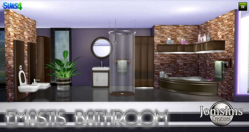 salle de bain sims 4