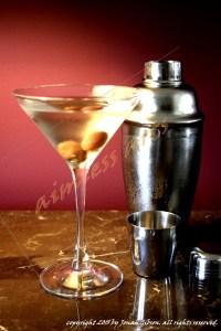 martini and shaker