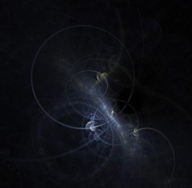 fractal black hole art