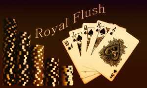 Royal Flush in Spades