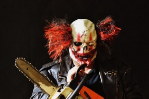 Angry Clown Photo