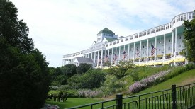 This is the Grand Hotel and the world's largest porch.