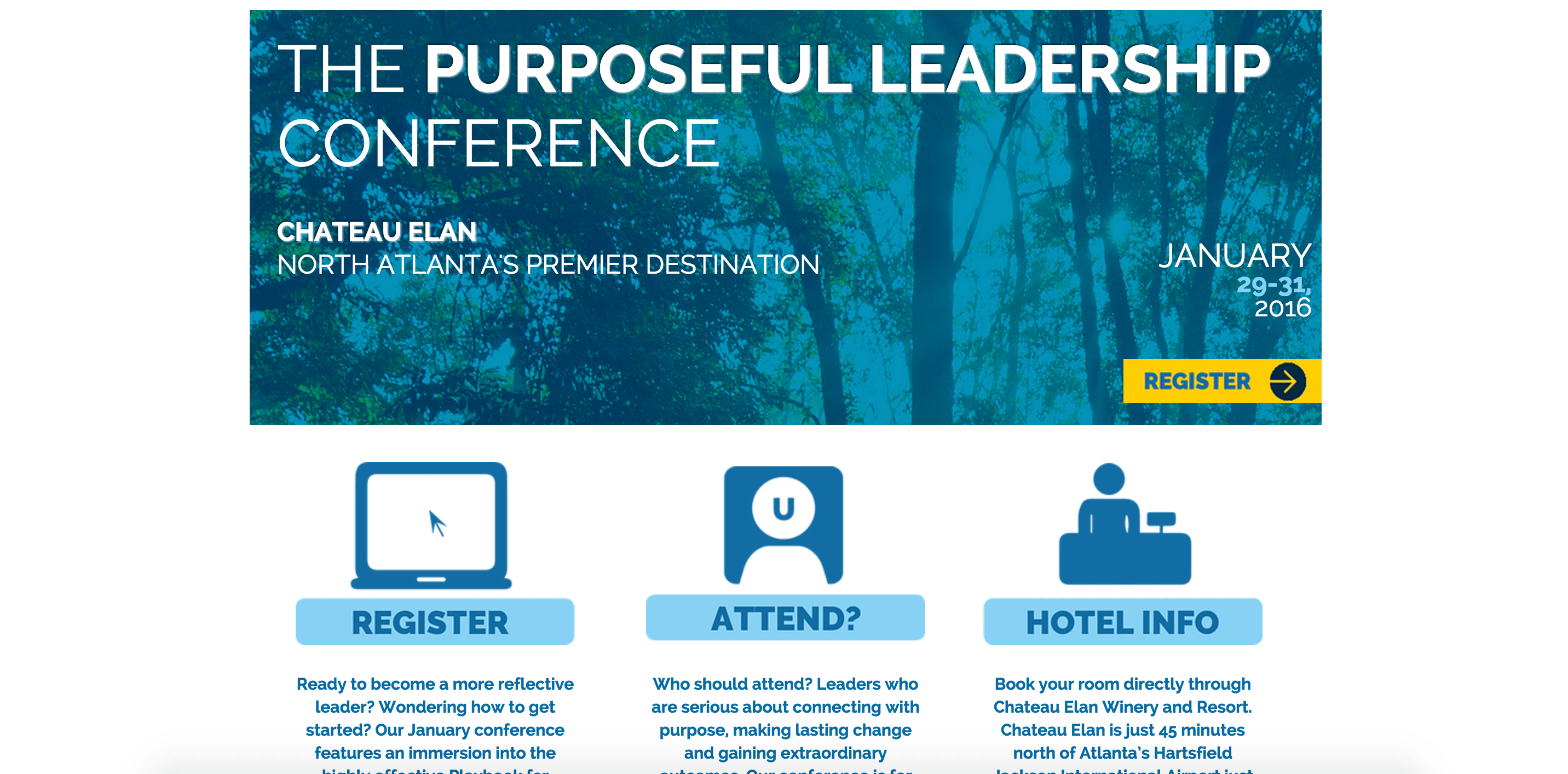 Purposeful Leadership Conference