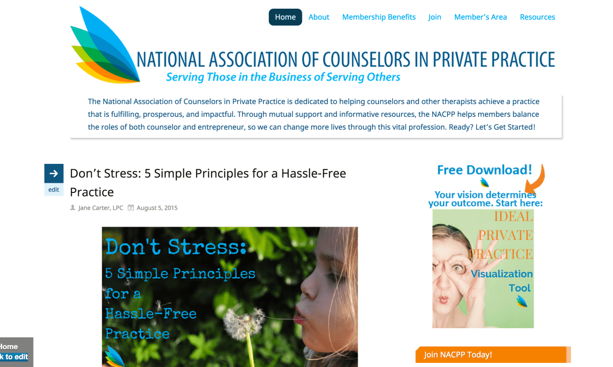 National Association of Counselors in Private Practice