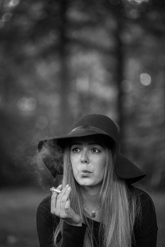 Porträtt kvinna