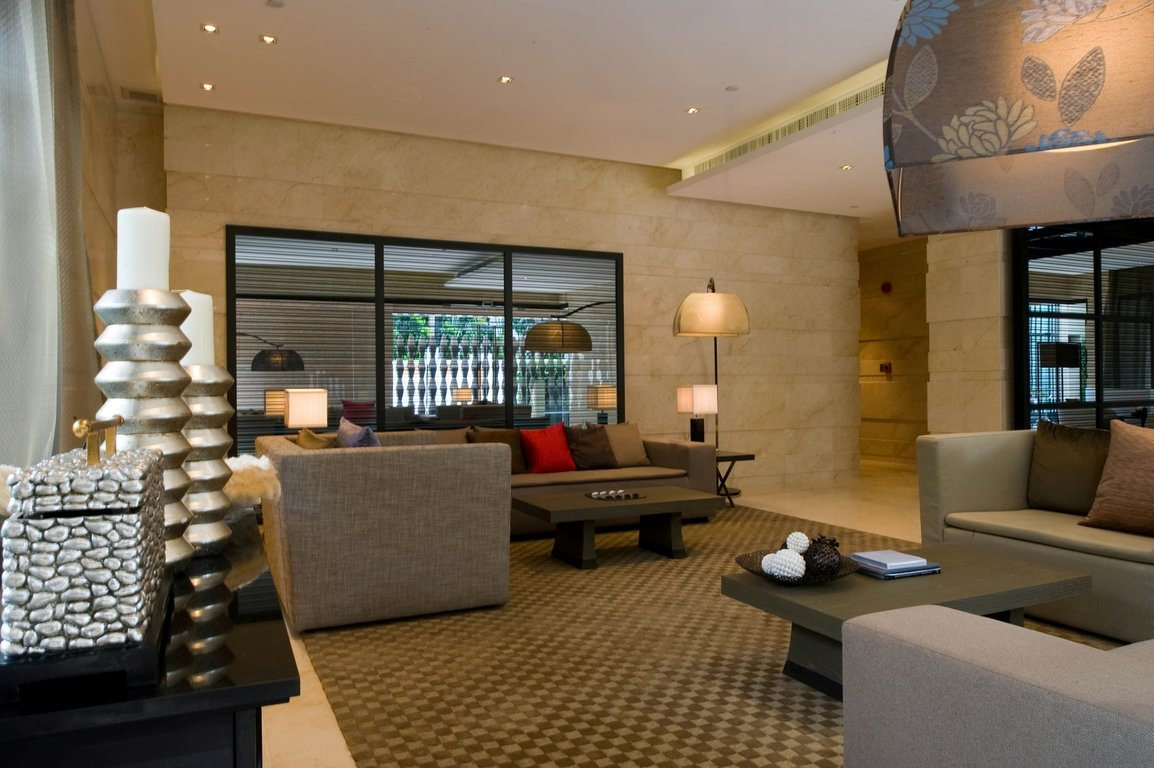 Hotel  Apartment Lobby Interior Design in NYC  Jonathan Baron