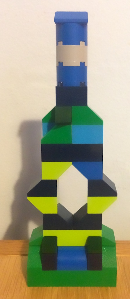 Untitled Lego Sculpture No 1 2