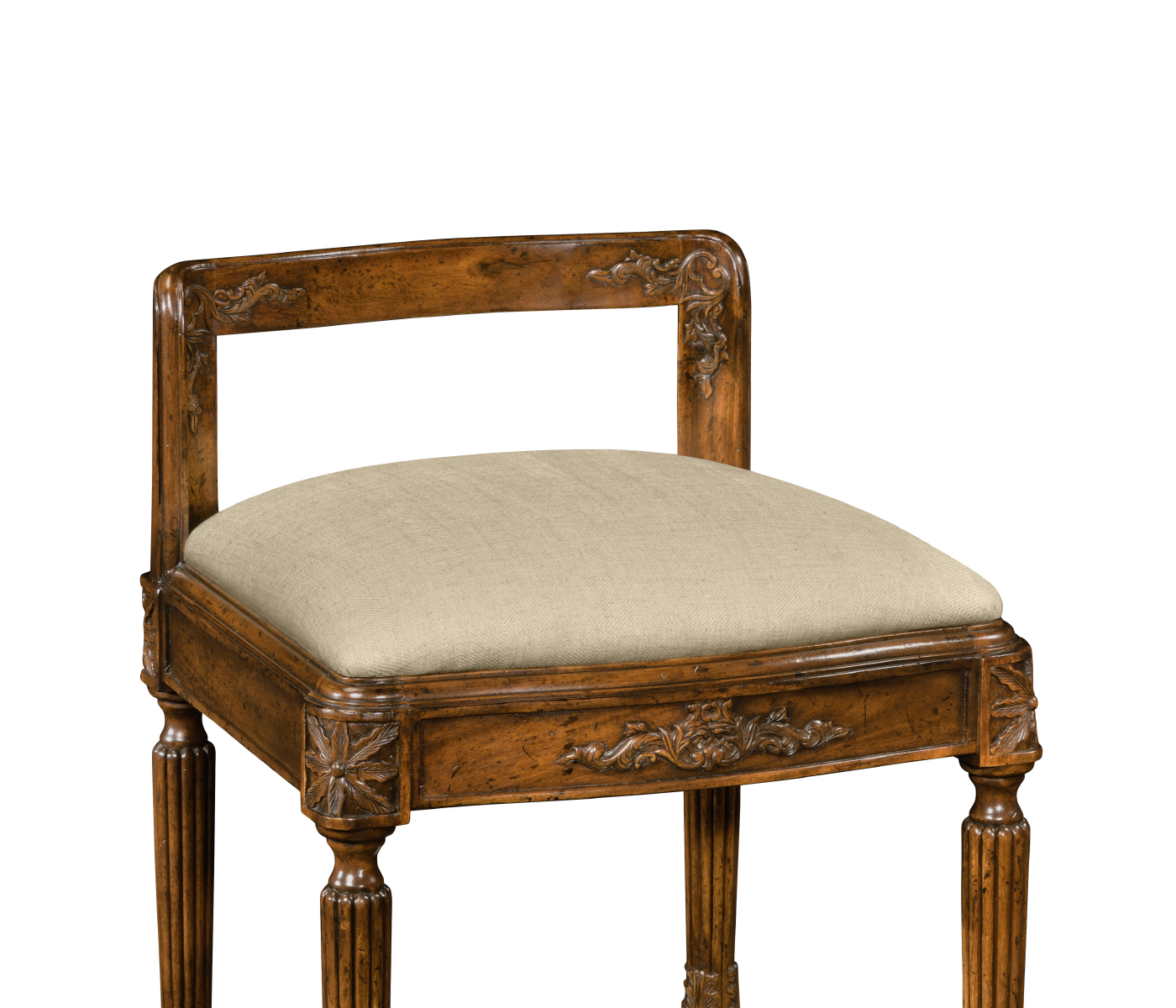 French empire style dressing stool