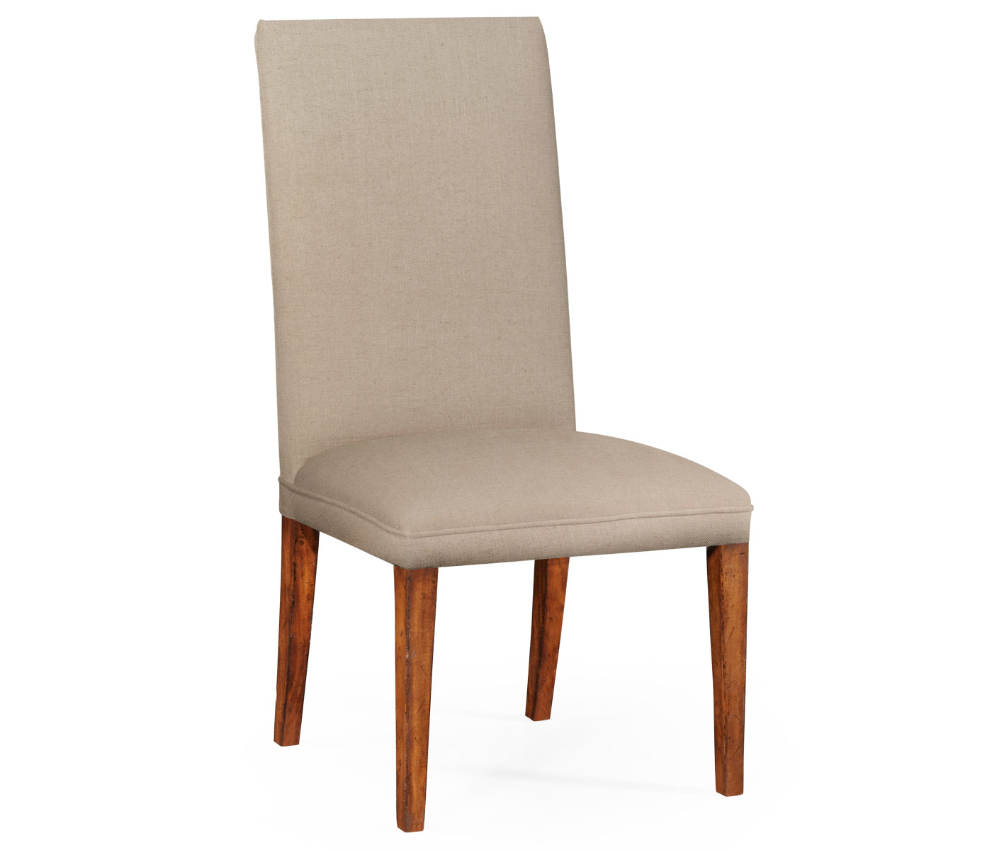 cloth dining room chairs rebar chair sizes fully upholstered side