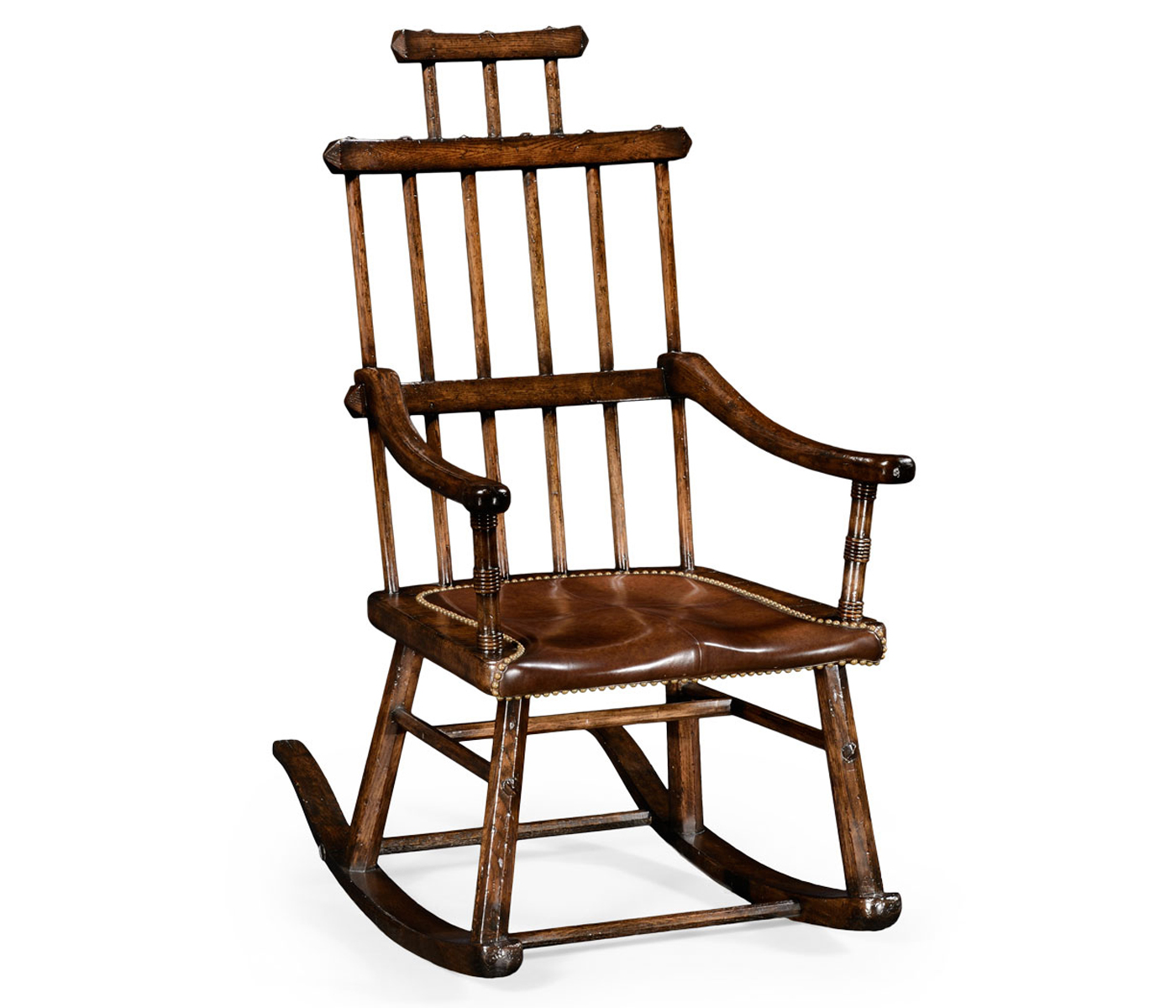 oak windsor chairs rifton activity chair style rocking with dark antique chestnut