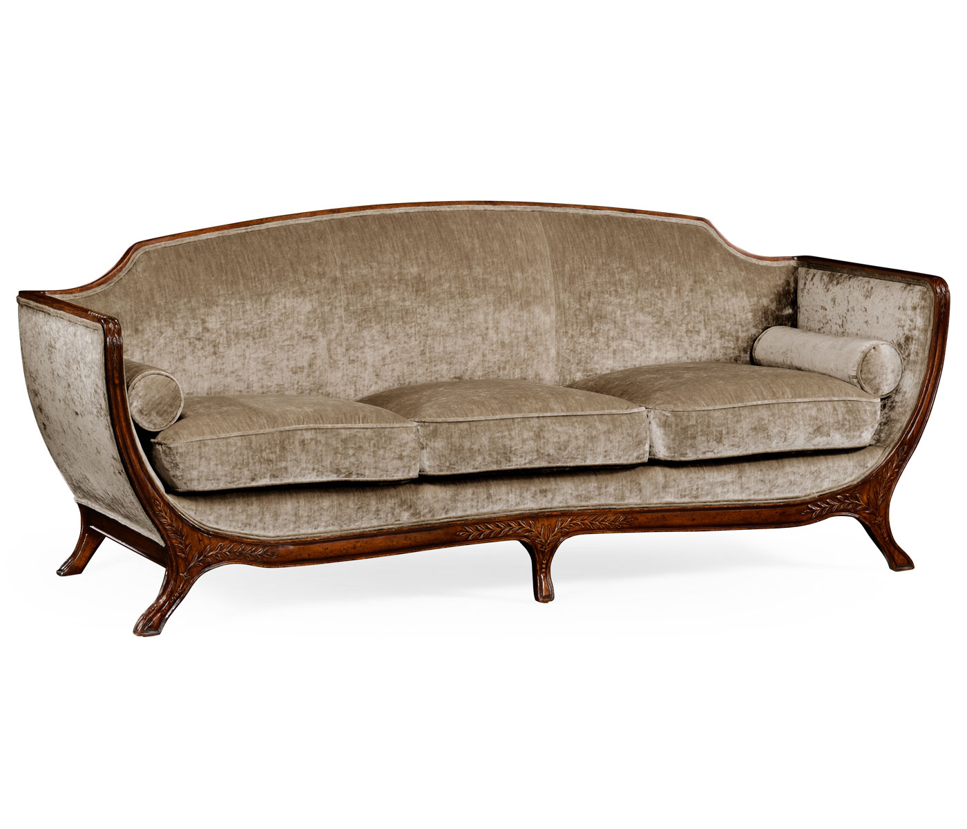 empire furniture sofa without back and arms style imperial lion with wings in