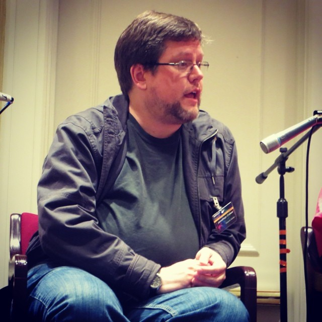Jonathan Crowe on the Readercon panel