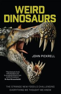 Book cover: Weird Dinosaurs