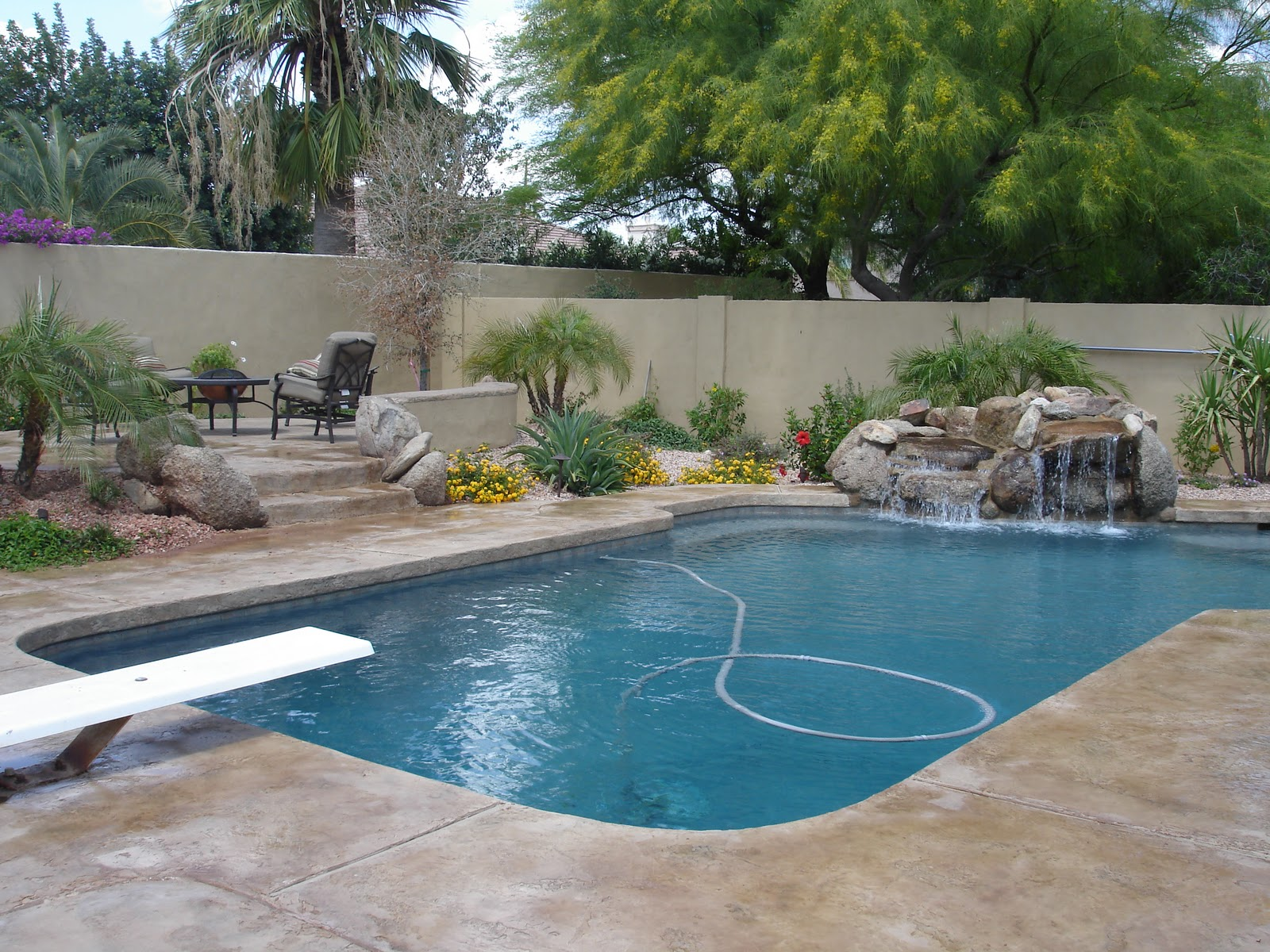 large pool and patio ideas interior