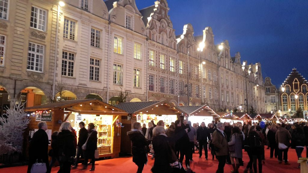 Le Marché de Noël de Arras - Grand Place