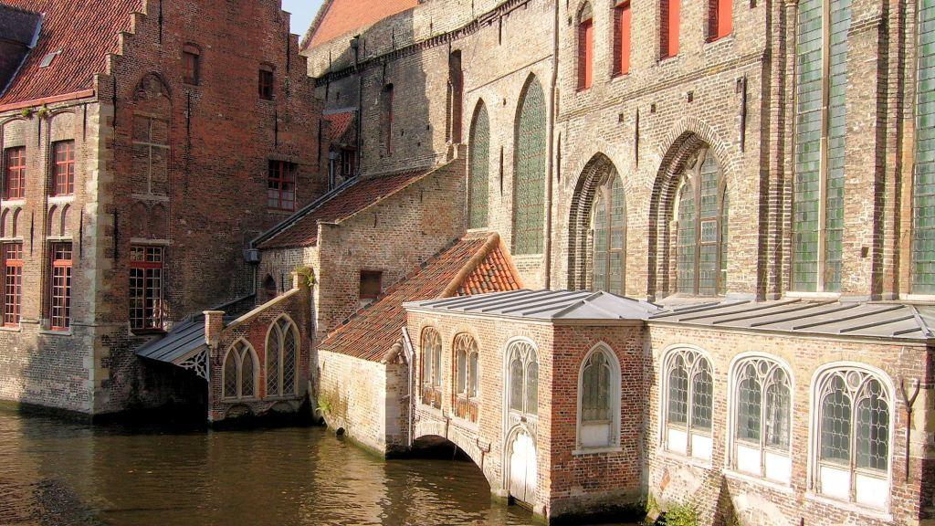 L'hôpital Saint Jean à Bruges