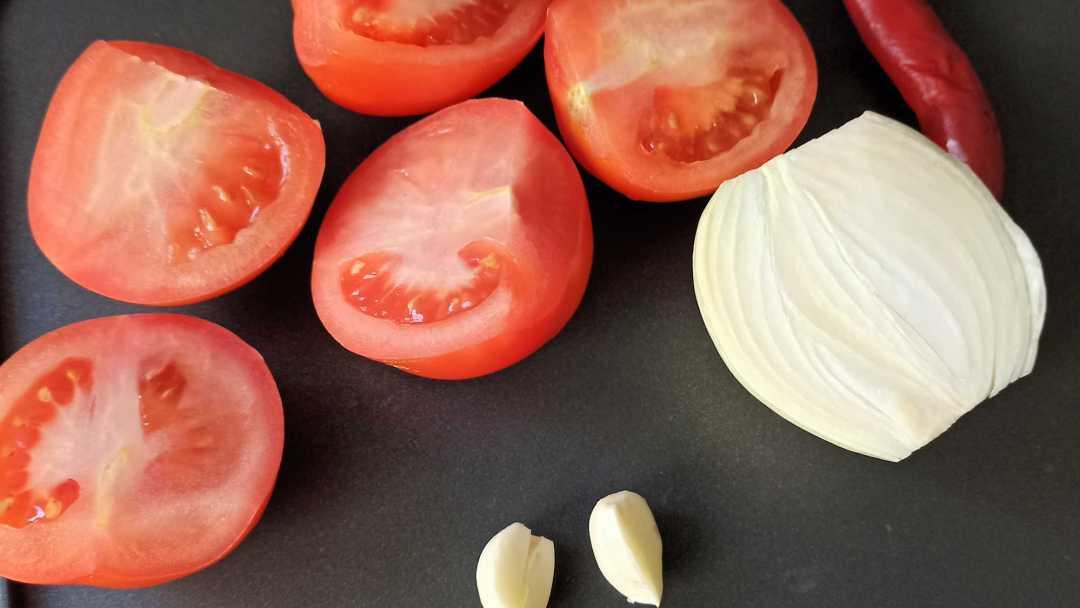 Griller les légumes sur la plancha
