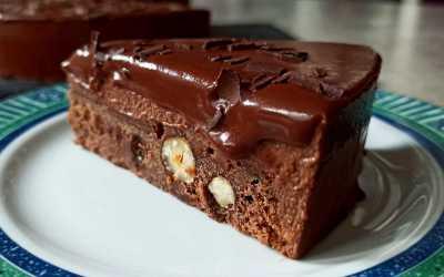 Fraîcheur au chocolat, un gâteau au chocolat de Pierre Hermé.