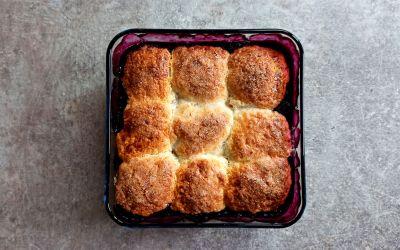 Blueberry cobbler : la recette de la tourte aux myrtilles de Martha Stewart