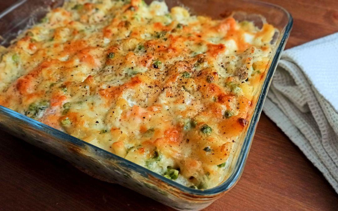Fish pie mac 'n' cheese : pour changer du gratin de pâtes