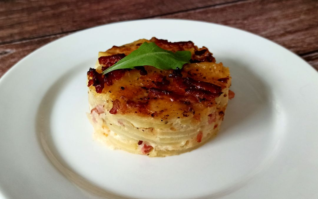 Gratin dauphinois aux trois fromages