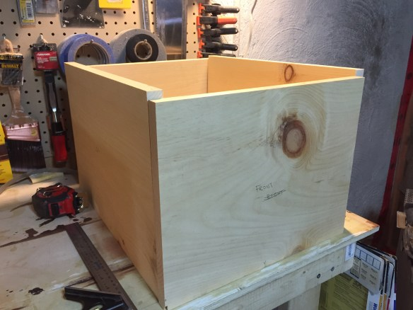 Rough cut box sides
