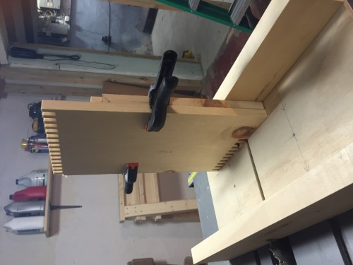 Using the box joint jig