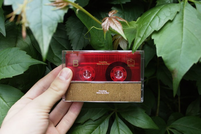 Wake Up In Bits Cassette back