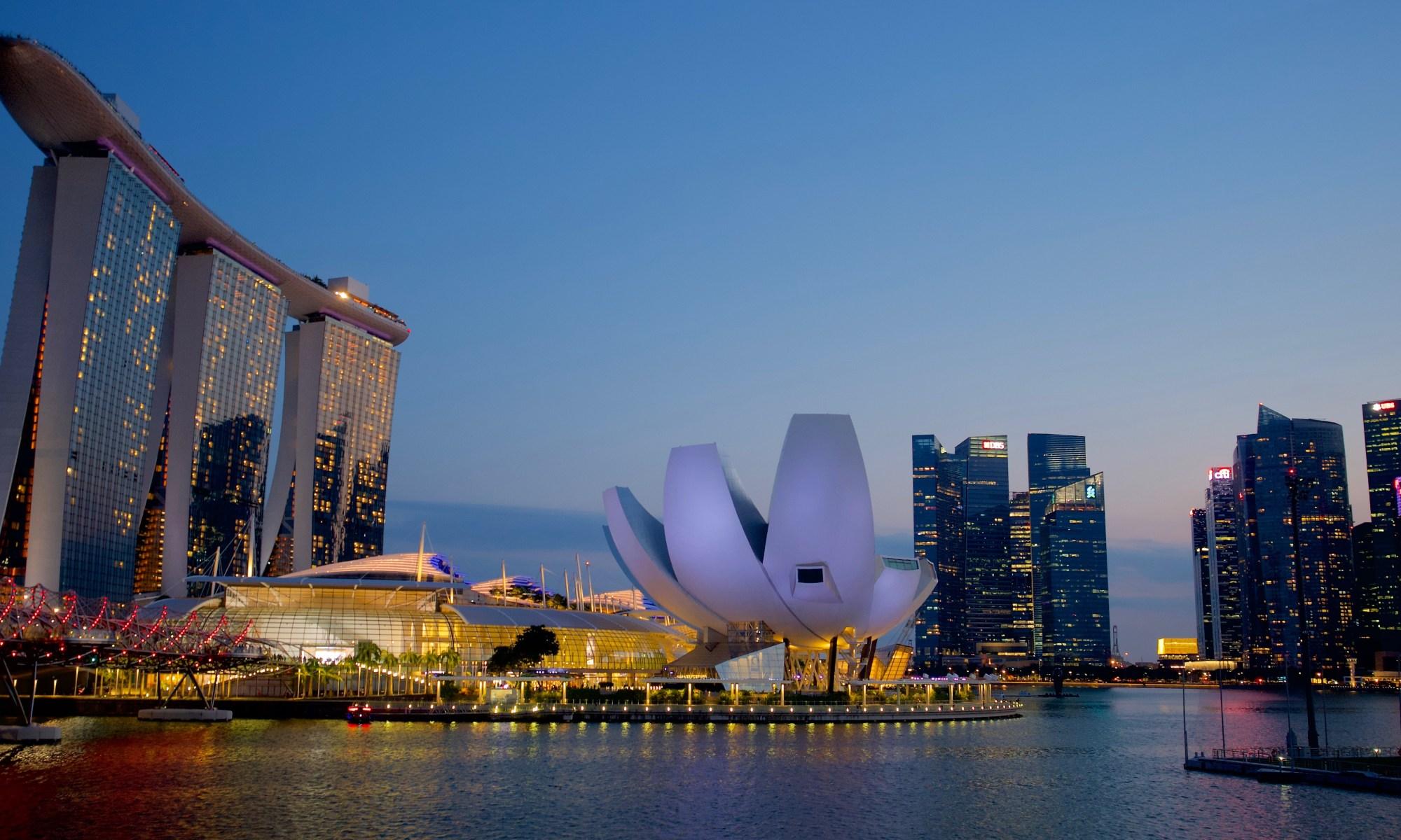 Marina Bay Singapore Jonathan Glazier