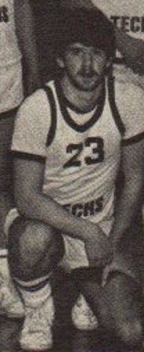 My freshman year of college on the b-ball team. Didn't have a clue.