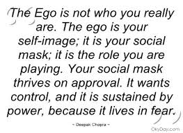 Ego is not who you are