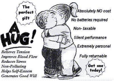 How to give a good hug