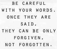 be carefu