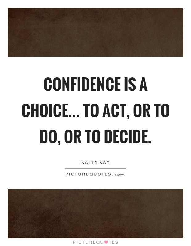 Quotes About Being Confident Custom Be Confident In You  Jonathan Hilton Mind Connections