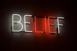 Beliefs are merely thoughts that you choose every day to add weight to.