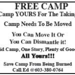 Free Camp Ad
