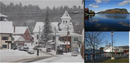 Winter is a long season in Greenville, it makes you tough. and you really like spring! the Katahdin is a iconic boat that cruises Moosehead Lake, and of course an image of Mt. Kineo. All images of home.