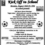 Kick Off To School
