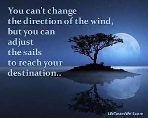 change sails
