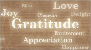 gratitude of Christmas