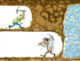 Keep going, you never know how close you are to success!!