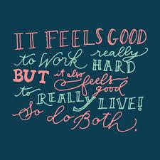 work feel good