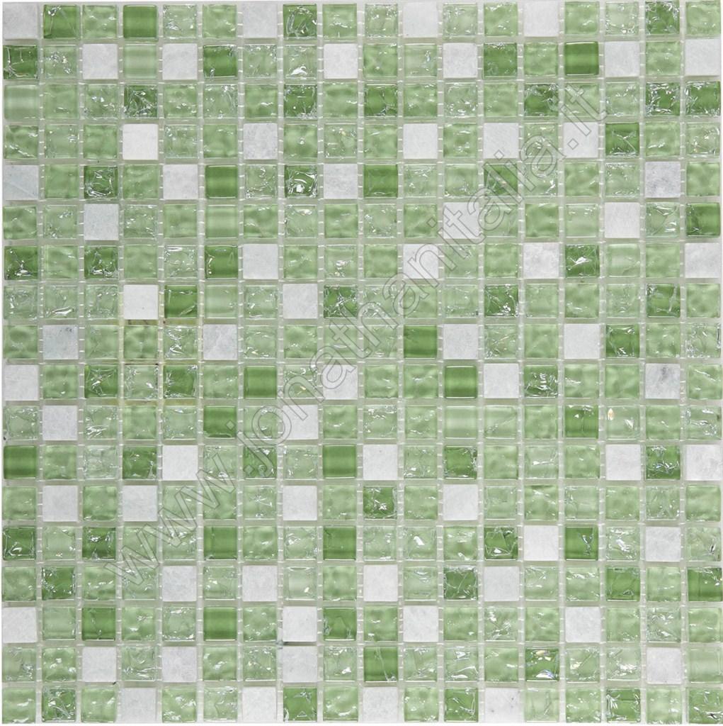 Bagno Mosaico Verde Smeraldo